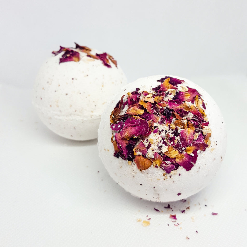 BOTANICAL BATH BOMB | GERANIUM + ROSE