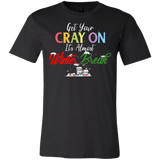 Get Your Cray On It's Almost Winter Break Christmas Unisex T-Shirt