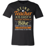 Teacher Gift Ideas - Superhero Teacher T Shirts - Being A Teacher Is Easy