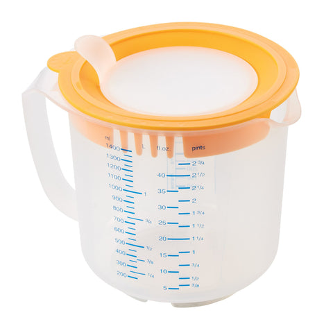 Leifheit 3-in-1 Measuring Cups (approx. 1.4 qt./6 c) - Harvey & Haley