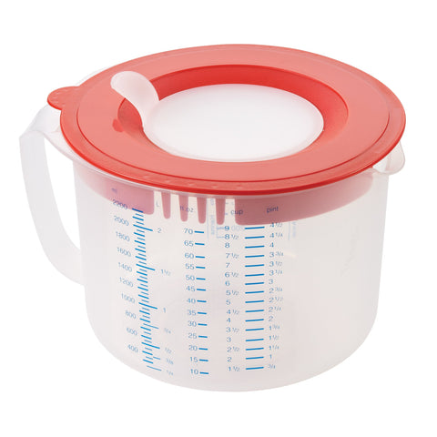 Leifheit 3-in-1 Measuring Cups (approx. 2 qt./9c) - Harvey & Haley