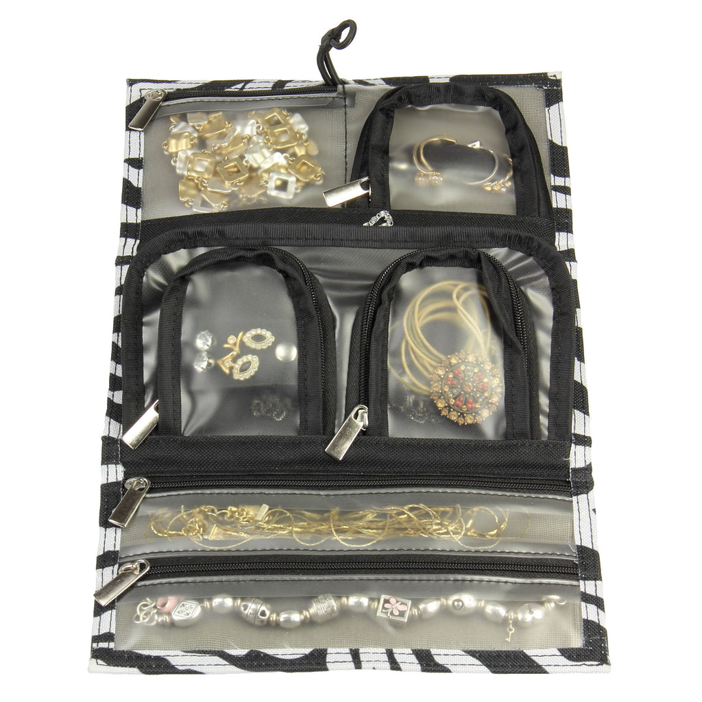 Household Essentials Tri-fold Travel Jewelry Organizer - Harvey & Haley  - 1