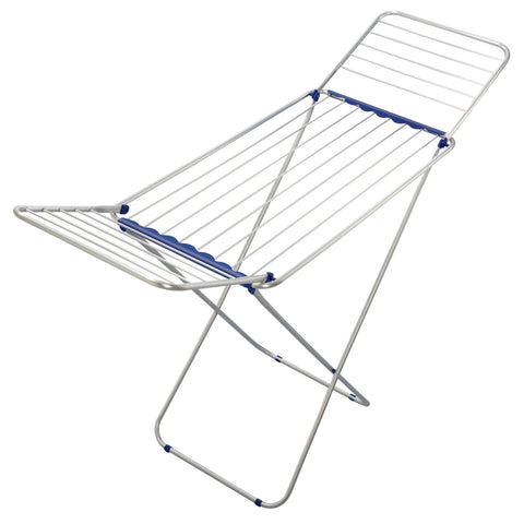 Household Essentials 81151 Siena 180 Aluminum Laundry Drying Rack - Harvey & Haley  - 1