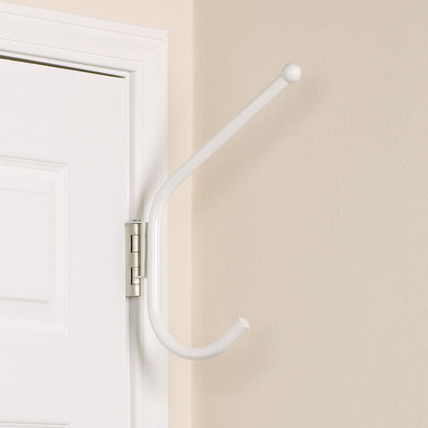 Household Essentials H5201 Spacemaker Double Hook-white