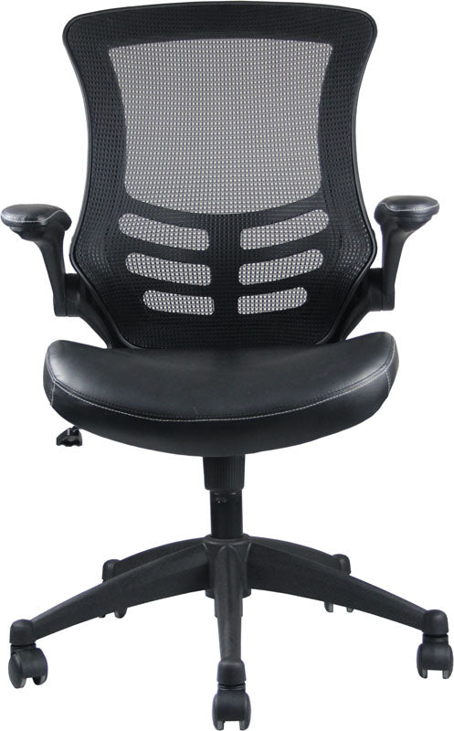 Intrepid High-back Office Chair in Black