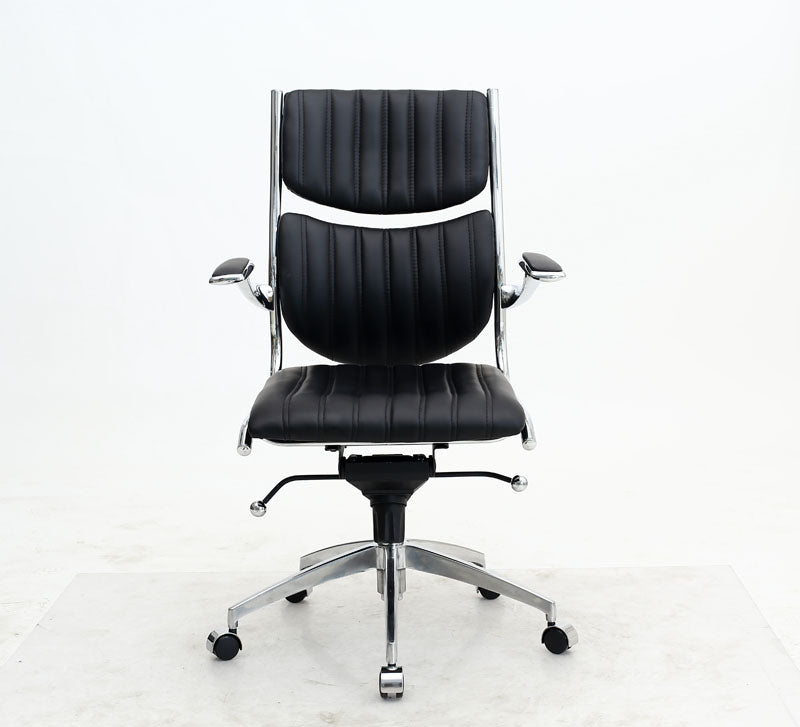 Ergonomic High Back Verdi Office Chair in Black