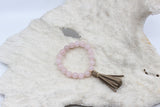 Rose Quartz Beach Beads