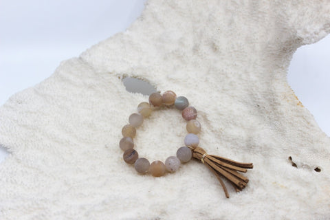 Druzzy Agate Beach Beads