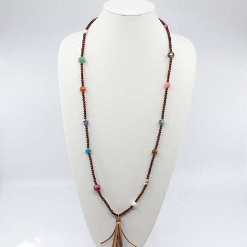 Wood Bead Necklace/Bracelet