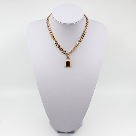 Gigi Lock Necklace