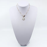 Guardian Angel Pearl Neckalce