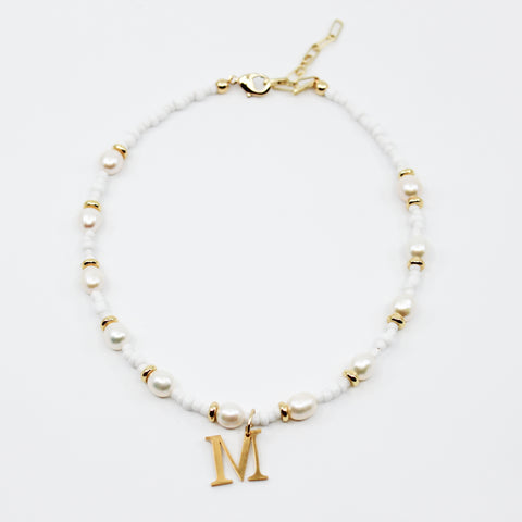 Jupiter Initial Necklace