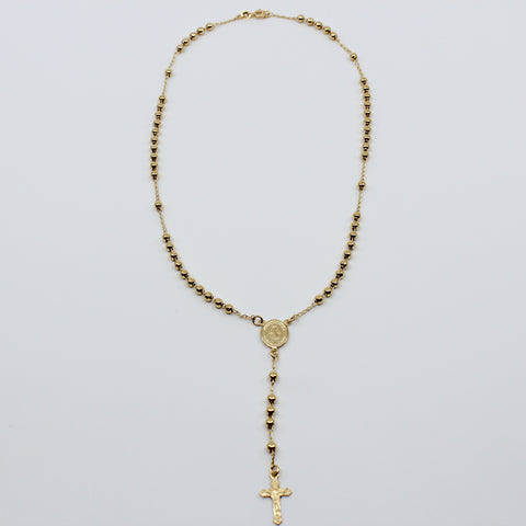Gold Ball Rosary