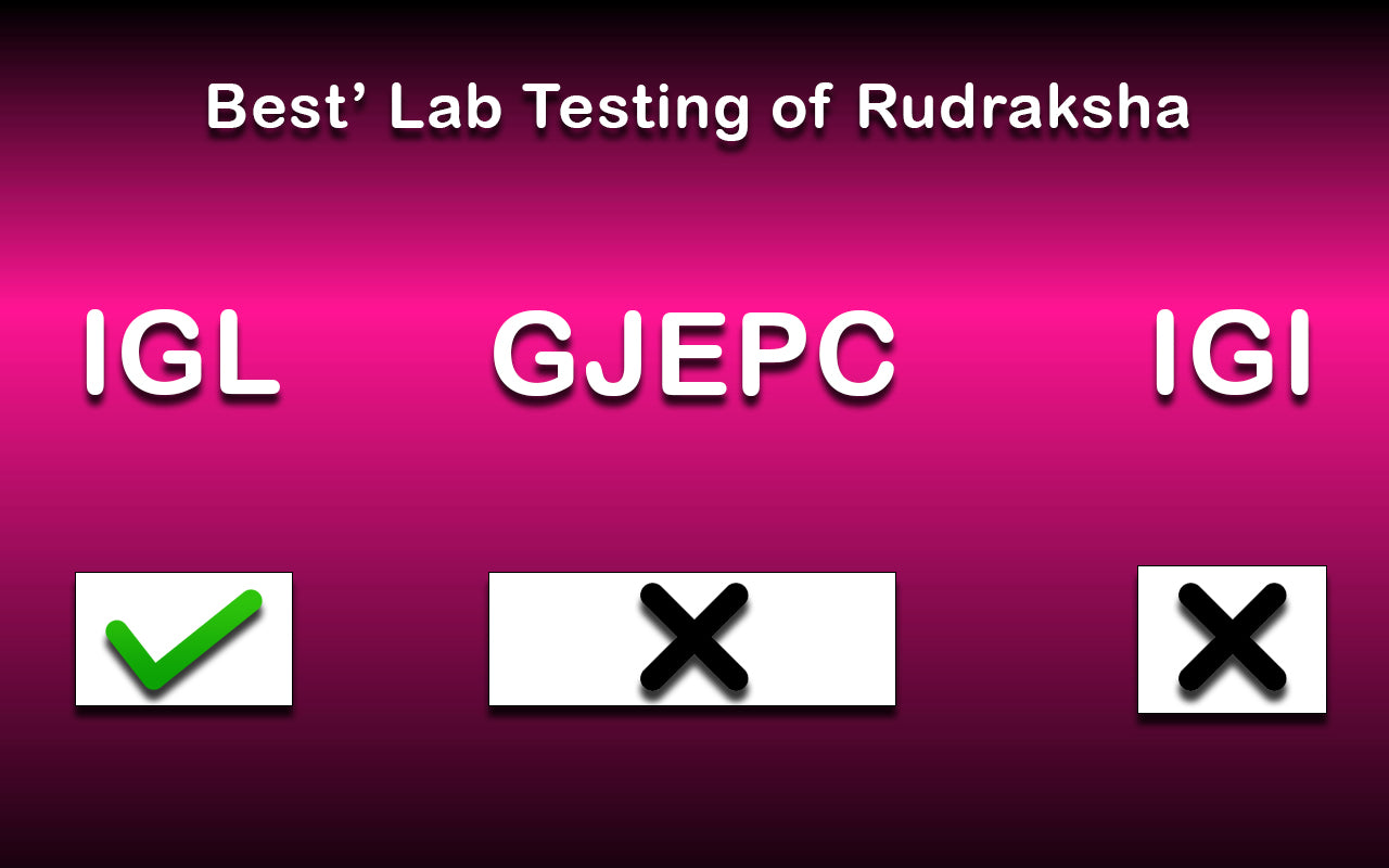 Best lab of rudraksha