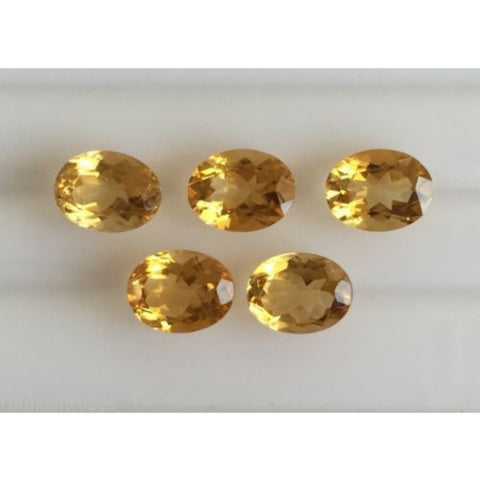 Ajretail 5 Piece 35.75 Ct Natural Citrine - AJRETAIL