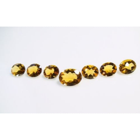 Ajretail 7 Piece 35.70 Ct Natural Citrine - AJRETAIL