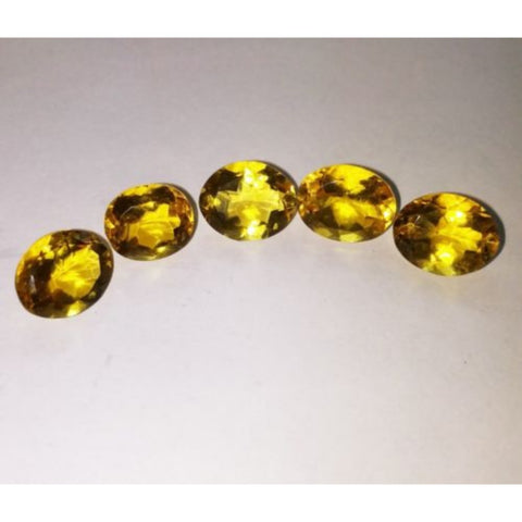 Ajretail 5 Piece 30.25 Ct Natural Citrine - AJRETAIL
