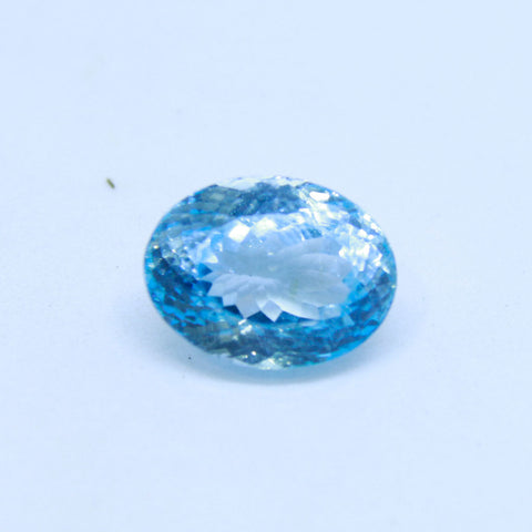 11.15 Carat Natural blue TOPAZ Gemstone IGL lab Certified
