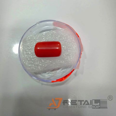 16.28ct Precious Red Coral Certified by IGL