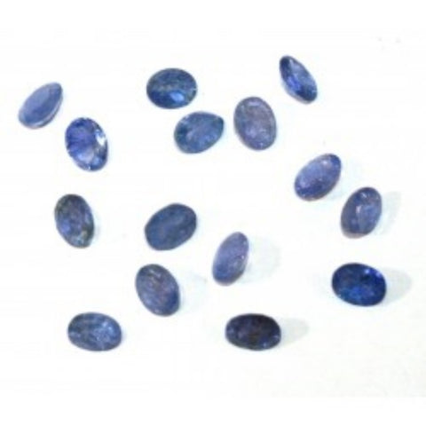 Ajretail 15 Pieces 75.50 Ct Natural Tanzanite - 1 Mukhi Rudraksha