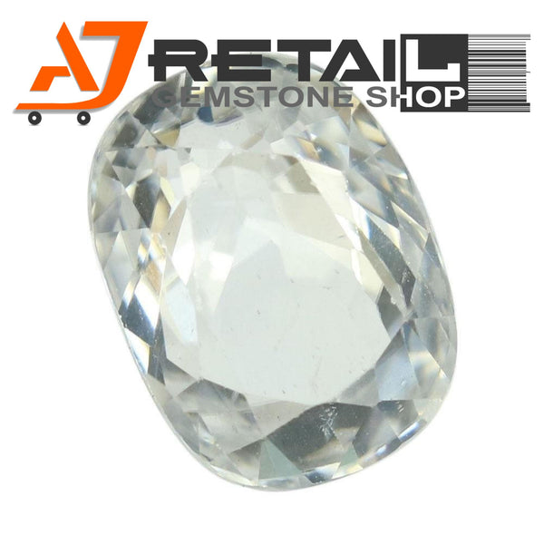 Aj Retail 3.03 Ct Natural earth mined best quality white colour zircon buy online in Chennai, Tamil Nadu - 1 Mukhi Rudraksha