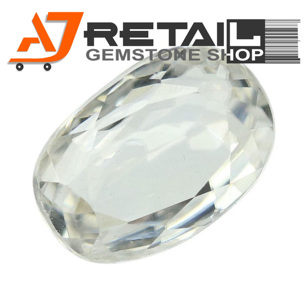 Aj Retail 4.70 Ct Natural earth mined best quality white colour zircon buy online in Kolkata, West Bengal - 1 Mukhi Rudraksha