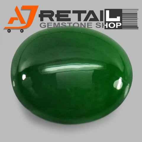 Aj Retail 5.10 Ct Natural Jade Loose Gemstone Cabochon Stone Buy Online In Chennai Tamil Nadu