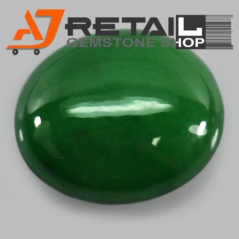 Aj Retail 5.60 Ct Natural Jade Loose Gemstone Cabochon Stone Buy Online In Kolkata West Bengal