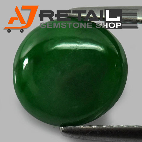 Aj Retail 5.80 Ct Natural Jade Loose Gemstone Cabochon Stone Buy Online In Kolkata West Bengal