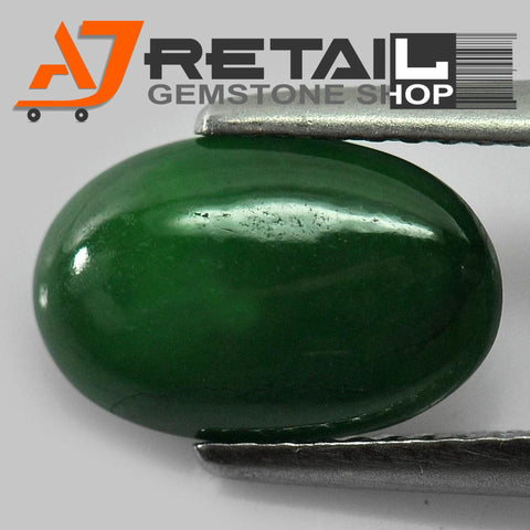 Aj Retail 6.10 Ct Natural Jade Loose Gemstone Cabochon Stone Buy Online In Chennai Tamil Nadu