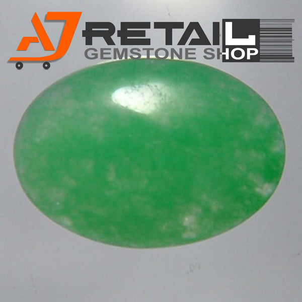 Aj Retail 7.05 Ct Natural  Jade Loose Gemstone Cabochon Stone buy online in Kolkata, West Bengal - 1 Mukhi Rudraksha