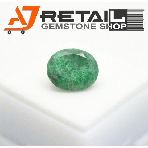 Aj Retail 7.10 Ct Natural  Jade Loose Gemstone Cabochon Stone buy online in Kolkata, West Bengal - 1 Mukhi Rudraksha