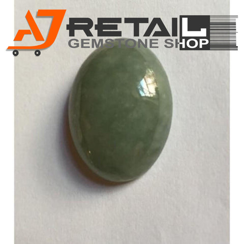 Aj Retail 7.25 Ct Natural  Jade Loose Gemstone Cabochon Stone buy online in Kolkata, West Bengal - 1 Mukhi Rudraksha
