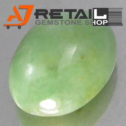 Aj Retail 7.50 Ct Natural  Jade Loose Gemstone Cabochon Stone buy online in Kolkata, West Bengal - 1 Mukhi Rudraksha