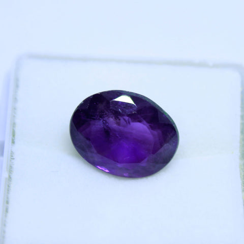 4.40 cts natural Amethyst(QUARTZ) IGL lab cerified(B)