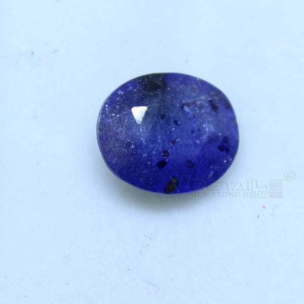 Natural Blue Sapphire 3.00 CARAT Bangkok Origin Unheated and Untreated | Certified Gemstone buy online @ajretail - 1 Mukhi Rudraksha