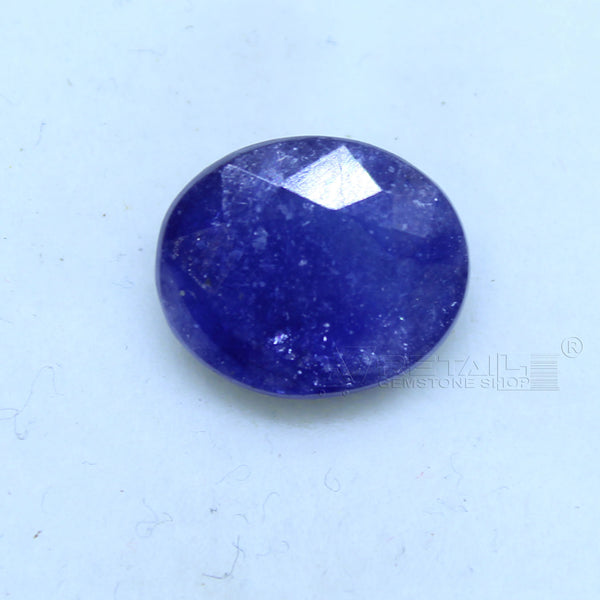 Natural Blue Sapphire 4.25 CARAT Bangkok Origin Unheated and Untreated | Certified Gemstone buy online @ajretail - 1 Mukhi Rudraksha