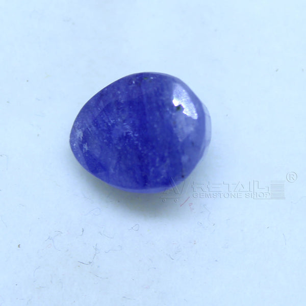 Natural Blue Sapphire 4.50 CARAT Bangkok Origin Unheated and Untreated | Certified Gemstone buy online @ajretail - 1 Mukhi Rudraksha