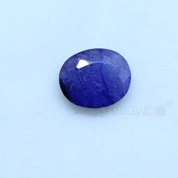 Natural Blue Sapphire 1.90 CARAT Bangkok Origin Unheated and Untreated | Certified Gemstone buy online @ajretail - 1 Mukhi Rudraksha