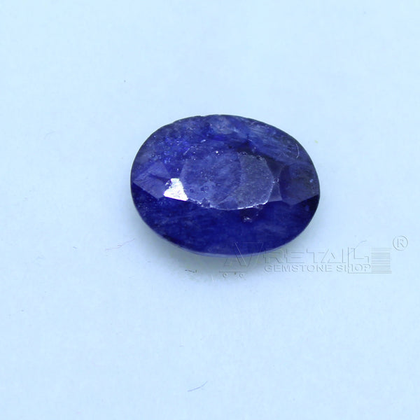 Natural Blue Sapphire 2.00 CARAT Bangkok Origin Unheated and Untreated | Certified Gemstone buy online @ajretail - 1 Mukhi Rudraksha