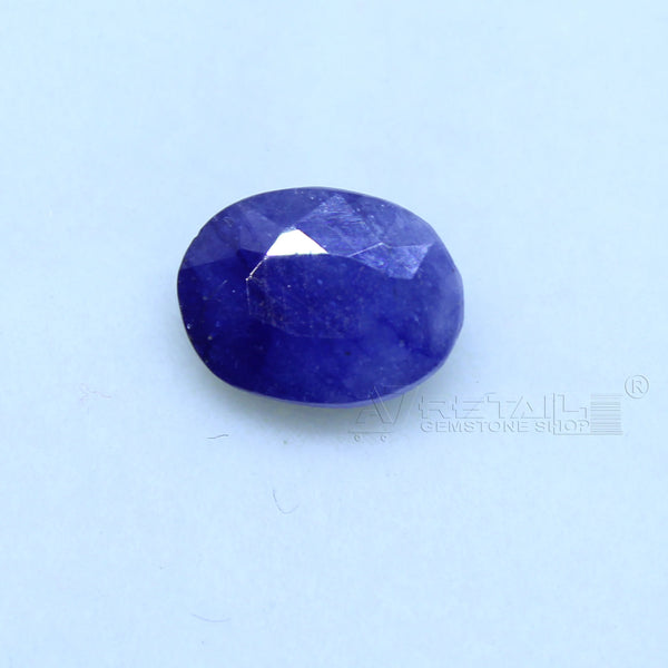 Natural Blue Sapphire 2.15 CARAT Bangkok Origin Unheated and Untreated | Certified Gemstone buy online @ajretail - 1 Mukhi Rudraksha