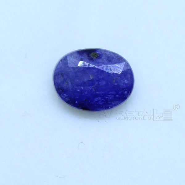 Natural Blue Sapphire 2.25 CARAT Bangkok Origin Unheated and Untreated | Certified Gemstone buy online @ajretail - 1 Mukhi Rudraksha