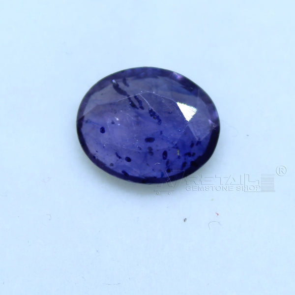 Natural Blue Sapphire 2.55 CARAT Bangkok Origin Unheated and Untreated | Certified Gemstone buy online @ajretail - 1 Mukhi Rudraksha