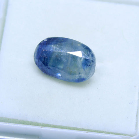 5.90 carats Natural Blue Sapphire (Neelam) LAB  certified