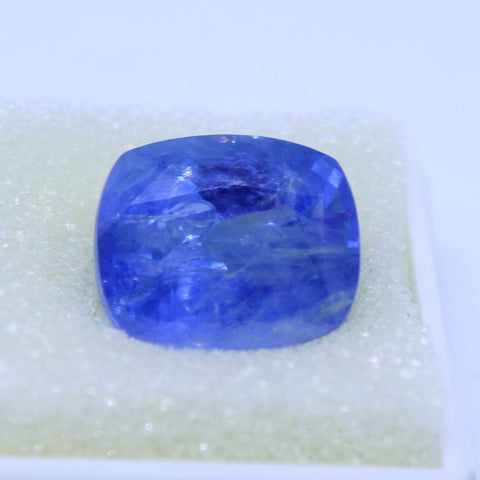 12.43ct natural blue saphhire govt. lab certified best quality buy online on Aj retail