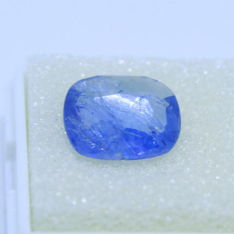 5.69ct natural blue saphhire govt. lab certified best quality buy online on Aj retail
