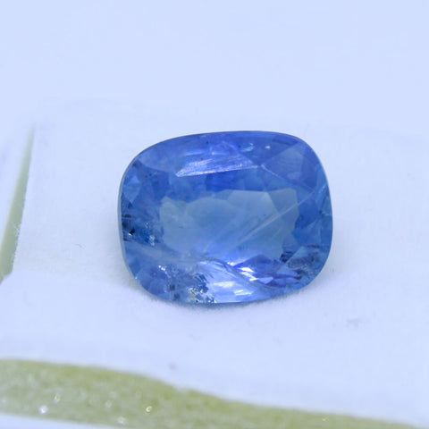 7.33ct natural blue saphhire govt. lab certified best quality buy online on Aj retail