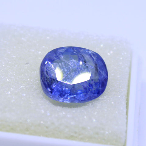 6.96ct natural blue saphhire govt. lab certified best quality buy online on Aj retail