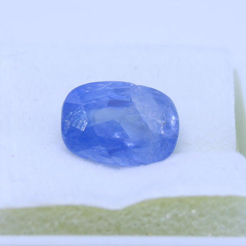 5.72ct natural blue saphhire govt. lab certified best quality buy online on Aj retail