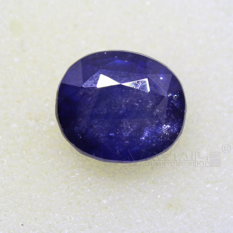 Certified Natural Blue Sapphire 7.85 Carat | 8.35 Ratti Neelam Gemstone500PCB@ AJRETAIL